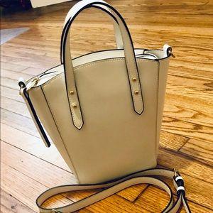 Elegant White Who What Wear crossbody or handbag